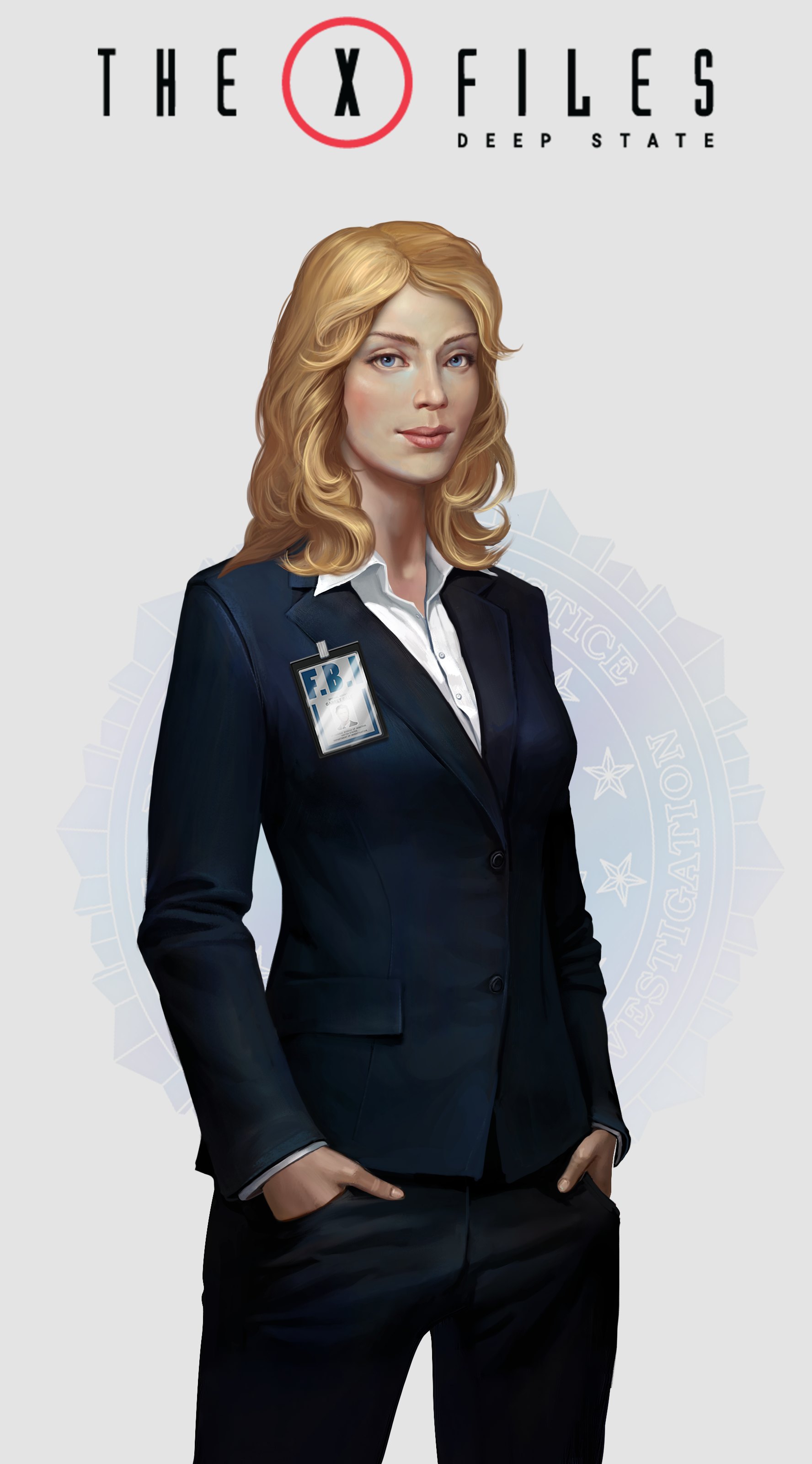 Fbi Female Woman Agent Xfiles Xfilesgame Blonde
