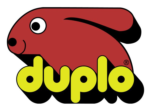 This was the Duplo logo I remember is a kid. The new one is actually quite cool too.