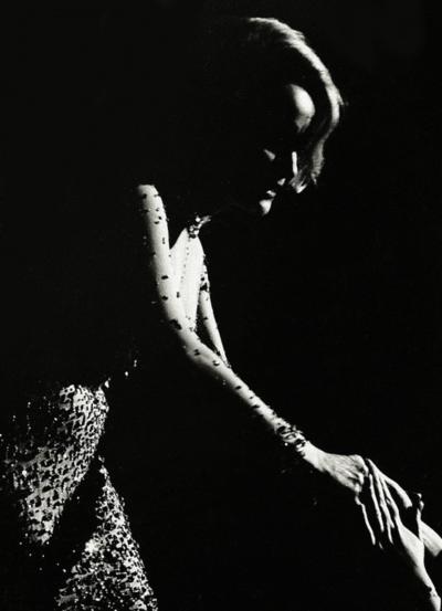 Marlene Dietrich in Moscow, 1964. (Photo by: Arno Fischer)