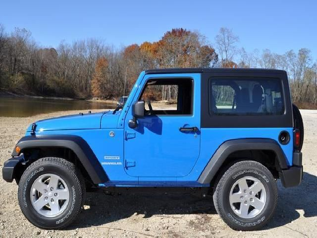 2012 Jeep Wrangler Sport Dream Cars Jeep Blue Jeep Wrangler Blue Jeep