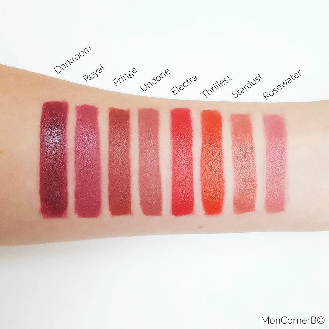 Swatch Situation Kosas Lipsticks Mua Faves Lipstick Makeup Lips