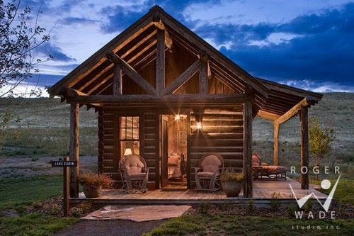 would be a cute guest cabin out on the ranch Dream Home