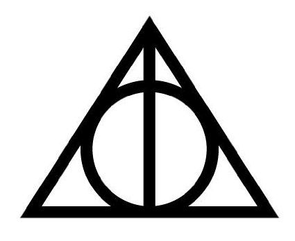 deathly hollows symbol - Google Search