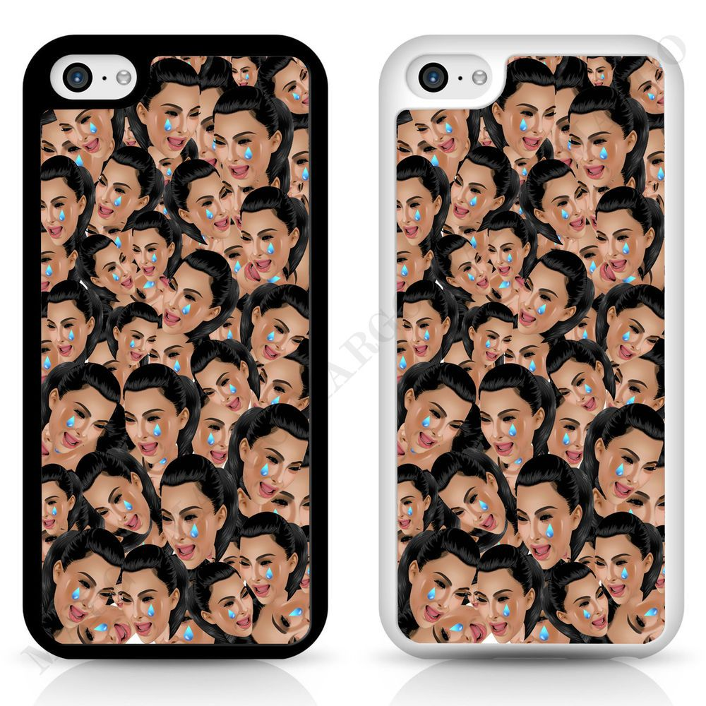 newest eb69a 1dc43 Details about Kim Crying Face Phone Case Cover Case for iPhone ...
