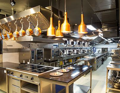 Industrial Interior Design Culinary Arts Institute At Varna