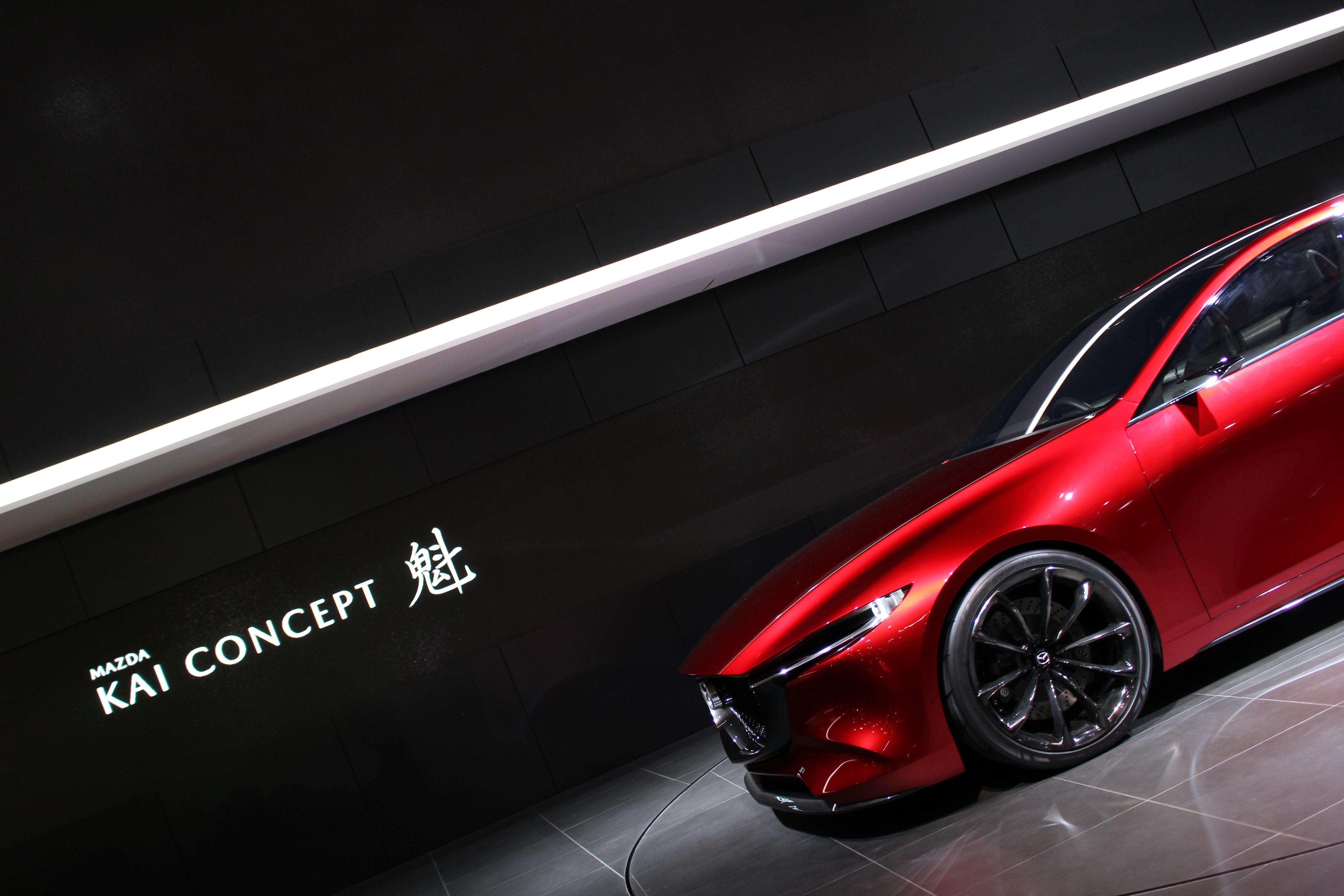 Mazda KAI CONCEPT 2017 | Mazda | Pinterest | Mazda and Cars