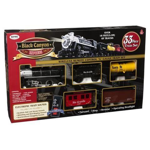 Black Canyon Express Remote Control Train Set Kmart