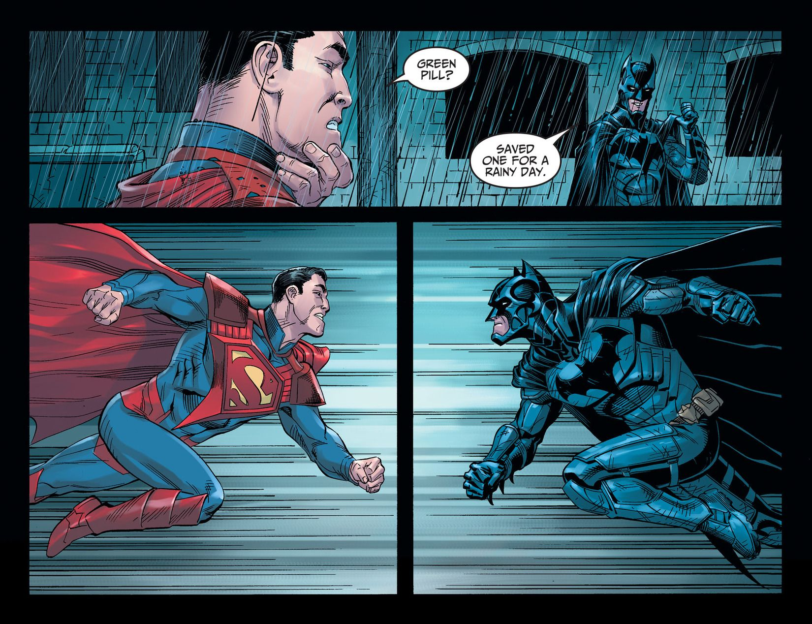 Injustice Gods Among Us Year Five Issue 25 Read Injustice Gods Among Us Year Five Issue 25 Comic Online In Universo Dc Universo