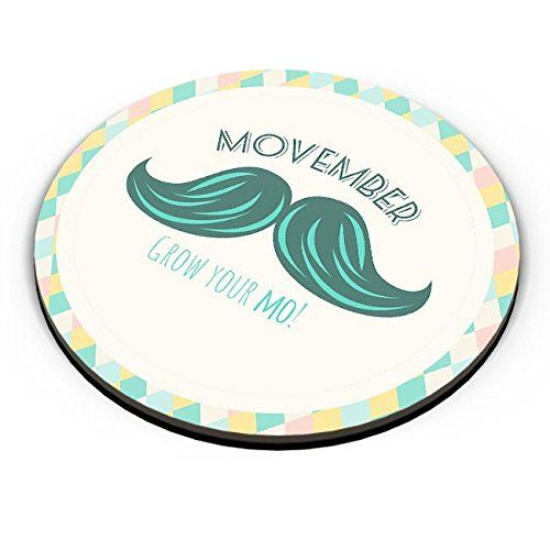 Movember - Grow Your Mo! with Green Moustache Fridge Magnet   #fridgemagnet #fridgemagnets #livetoride #freedom #beard #letitgrow #noshavenovember #beardseason #beardie #noshave #noshavember #desibeard #beardsforlife #beardrules #movember #beardking #hipster #moustache #growit #design #designs #cbzdesigns