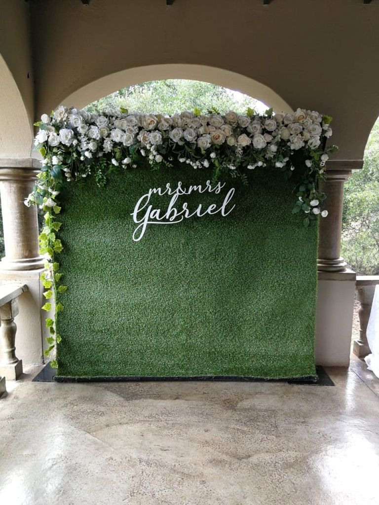 Grass Flower Wall Backdrop For Hire Flower Wall Backdrop Wall