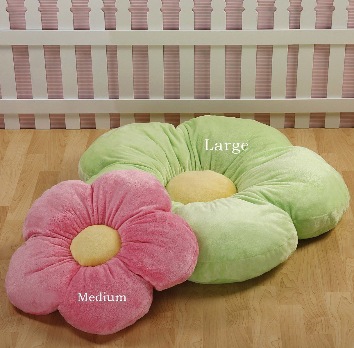 Daisy Flower Pillow, Cushion Pillow, Girls Room