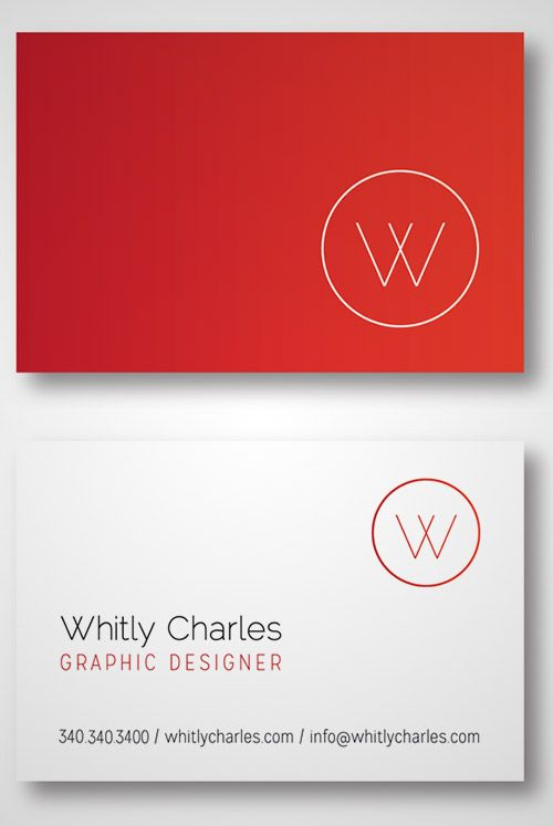 30 Beautiful Examples Of Gradient Business Cards With Images