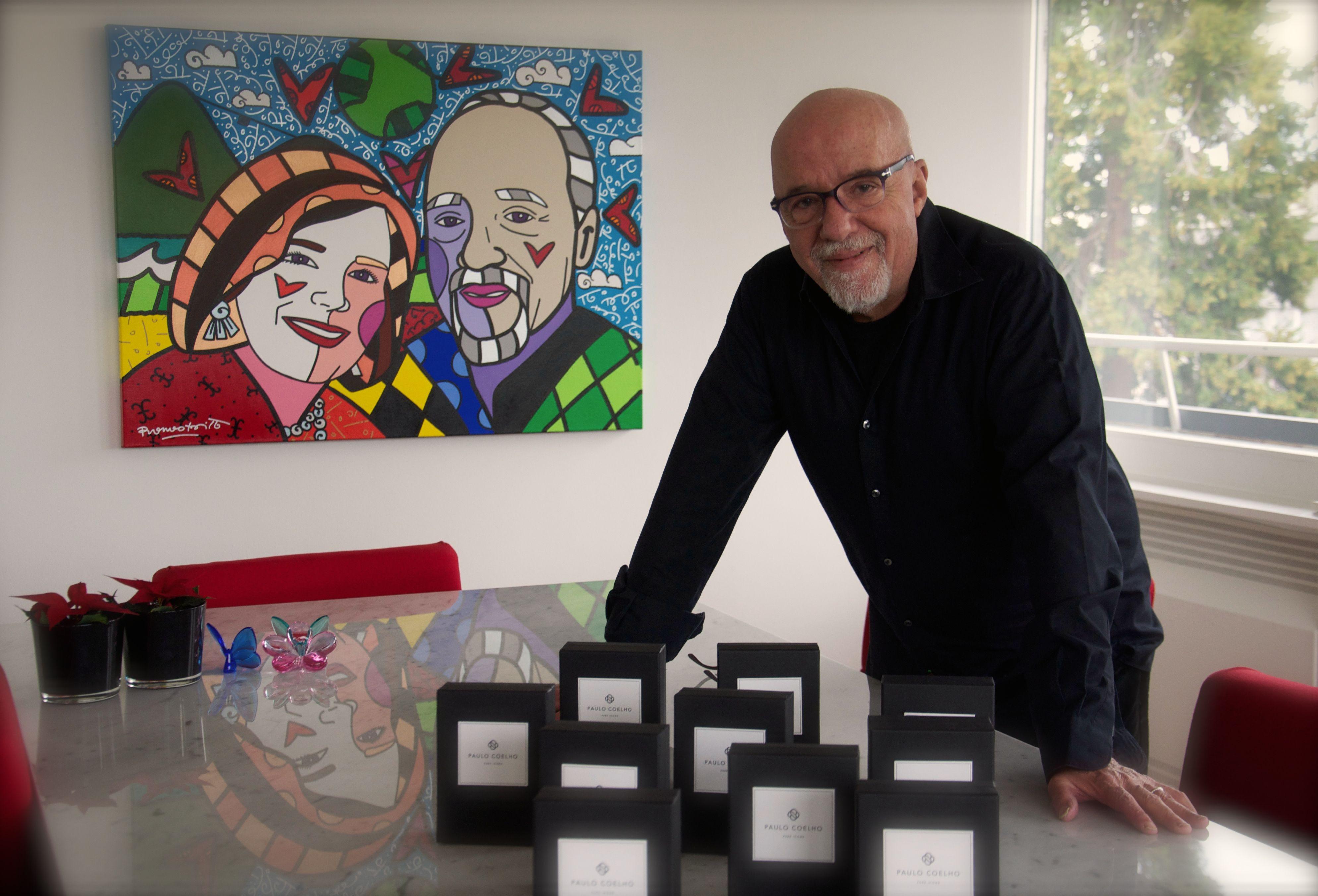 Behind the scenes with Paulo Coelho