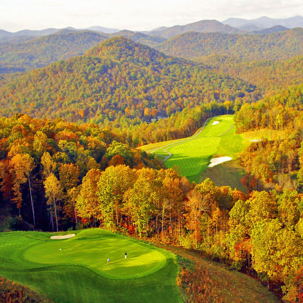 The Golf Experience Golf courses, Natural waterfalls