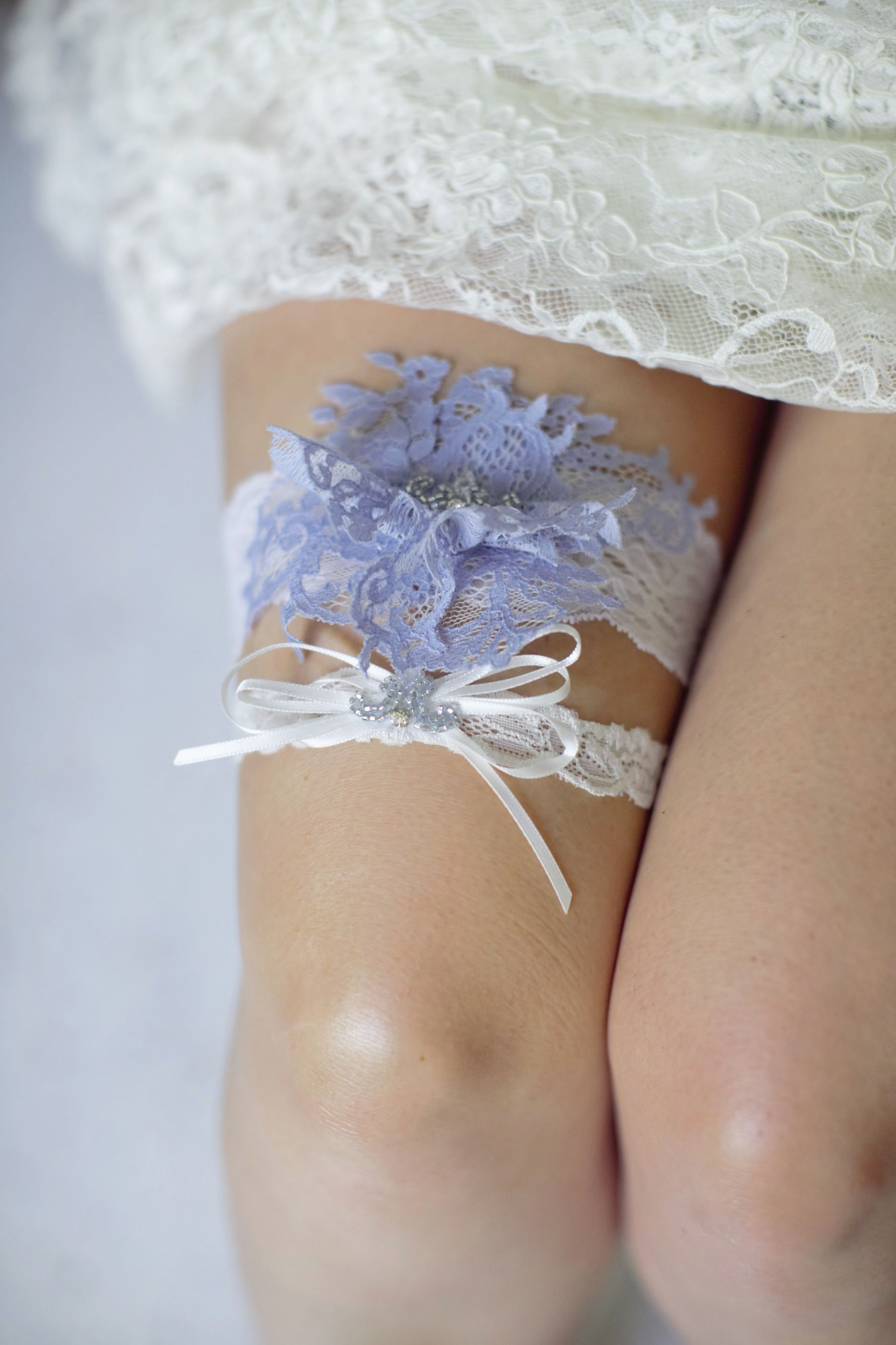 a84a8c28b beautiful periwinkle blue garter set for the perfect