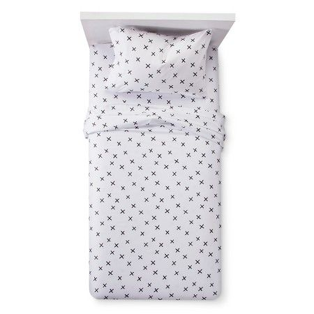 X Marks The Spot Sheet Set Twin Black White Pillowfort Target Pillow Fort Twin Sheet Sets Sheet Sets Full