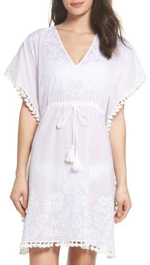 d467eeea5d Tory Burch Embroidered Cover-Up Caftan | Balconies in 2019 | Women's ...