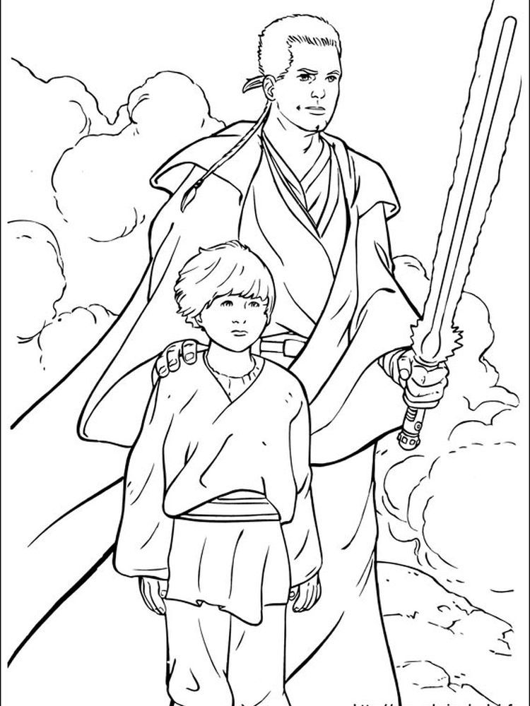Star Wars Coloring Pages Anakin Skywalker Following This Is Our Collection Of Star Wars Colori Star Wars Coloring Book Cartoon Coloring Pages Star Wars Colors