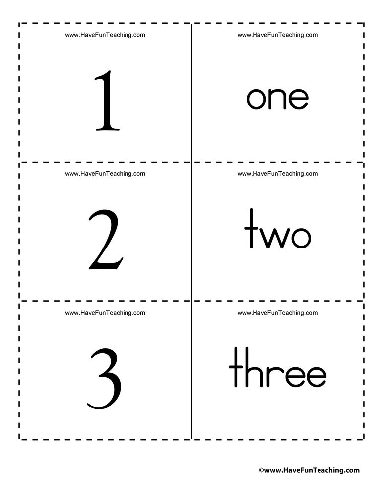 Numbers Word Flash Cards 0 to 100 Kids Learning Pinterest Math