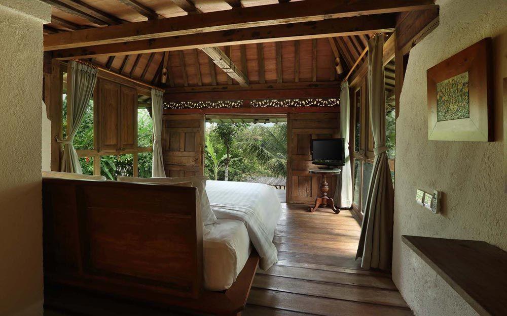 Deluxe Wooden Villa Borobudur Rumah Rumah Kayu Bali