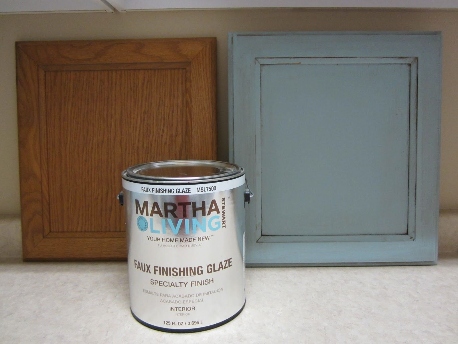 Amazing Martha Stewart Living Glaze To Paint Desk In Craft Room
