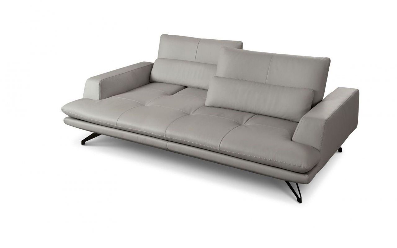 Intermede Leather Sofa Canape En Cuir Sacha Lakic Design For