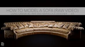 How to model a Sofa (5/5) in Best of C4D Tutorials. on Vimeo