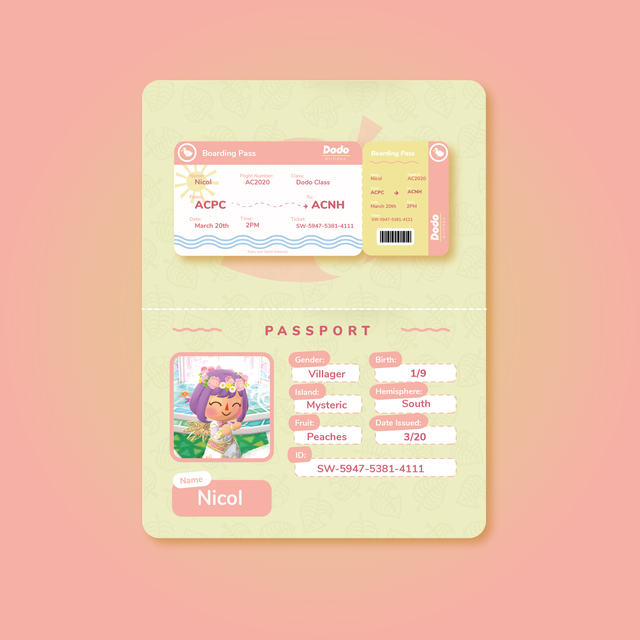 I Too Wanted To Try Making My Own Passport And Boarding Pass They Re Just A Little More Pink Anima Graphic Design Posters Graphic Design Cv Note Doodles