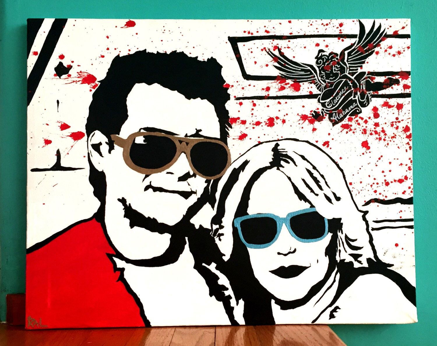 You're So Cool Pop Art Painting by ThatsHighlyOffensive on Etsy https://www.etsy.com/listing/229506944/youre-so-cool-pop-art-painting