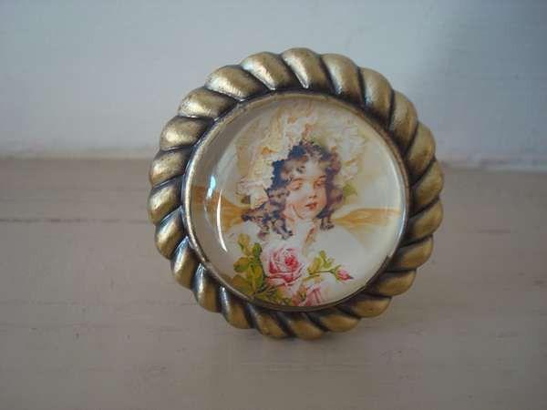 Bouton de meuble rétro original  650u20ac #bouton #deco #retro - poignee de porte porcelaine ancienne