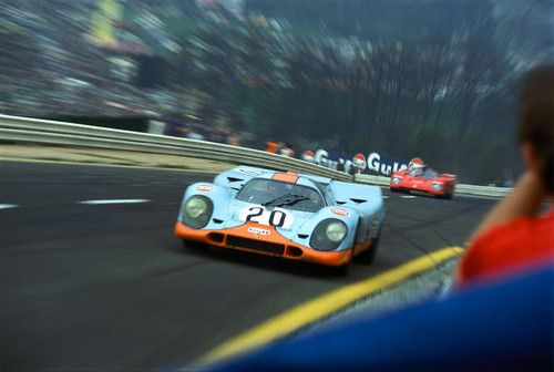 Gulf Porsche 917K at Spa-Francorchamps