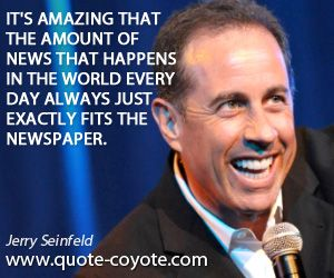 Jerry Seinfeld Quotes Extraordinary Seinfeld On Failure Smartfem  Pinterest  Seinfeld