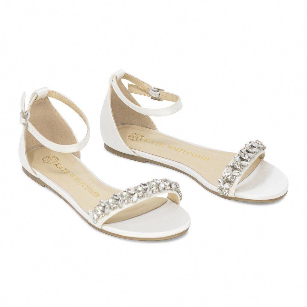 Wedding Flats Bridal Heels Bride Shoes Flats Finn Ivory Kate Whitcomb Shoes Weddingboots Indian Wedding Shoes Wedding Sandals Wedding Sandals For Bride