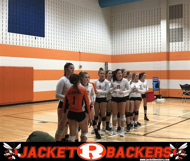 The Rockwall Lady Jackets 9th Grade Volleyball Team Defeats Lake Highlands In Tuesday S Night Matchup In Two Sets Volleyball Team Jackets For Women Jackets