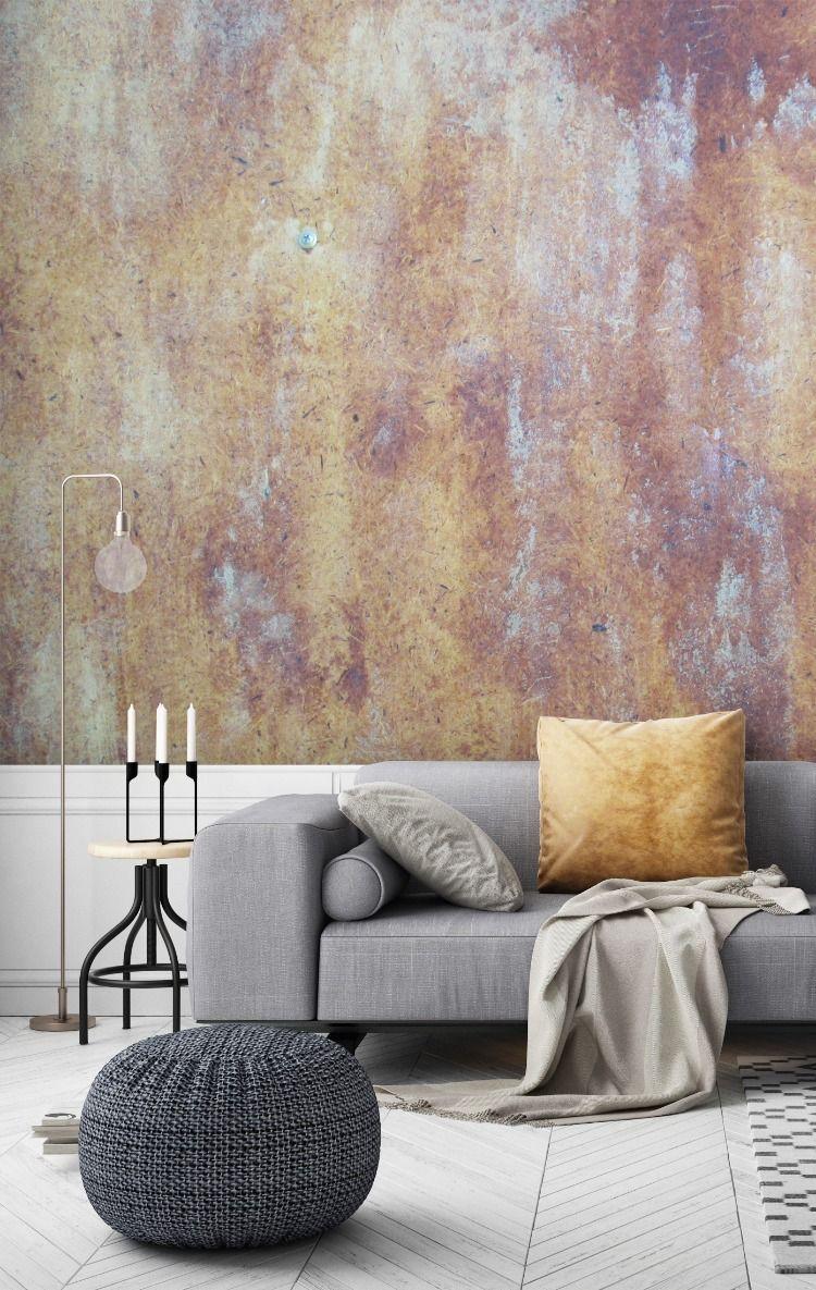 Interior Trend Concrete Wallpaper Murals Wallsauce In 2020 Feature Wall Living Room Wallpaper Feature Wall Living Room Wallpaper Living Room