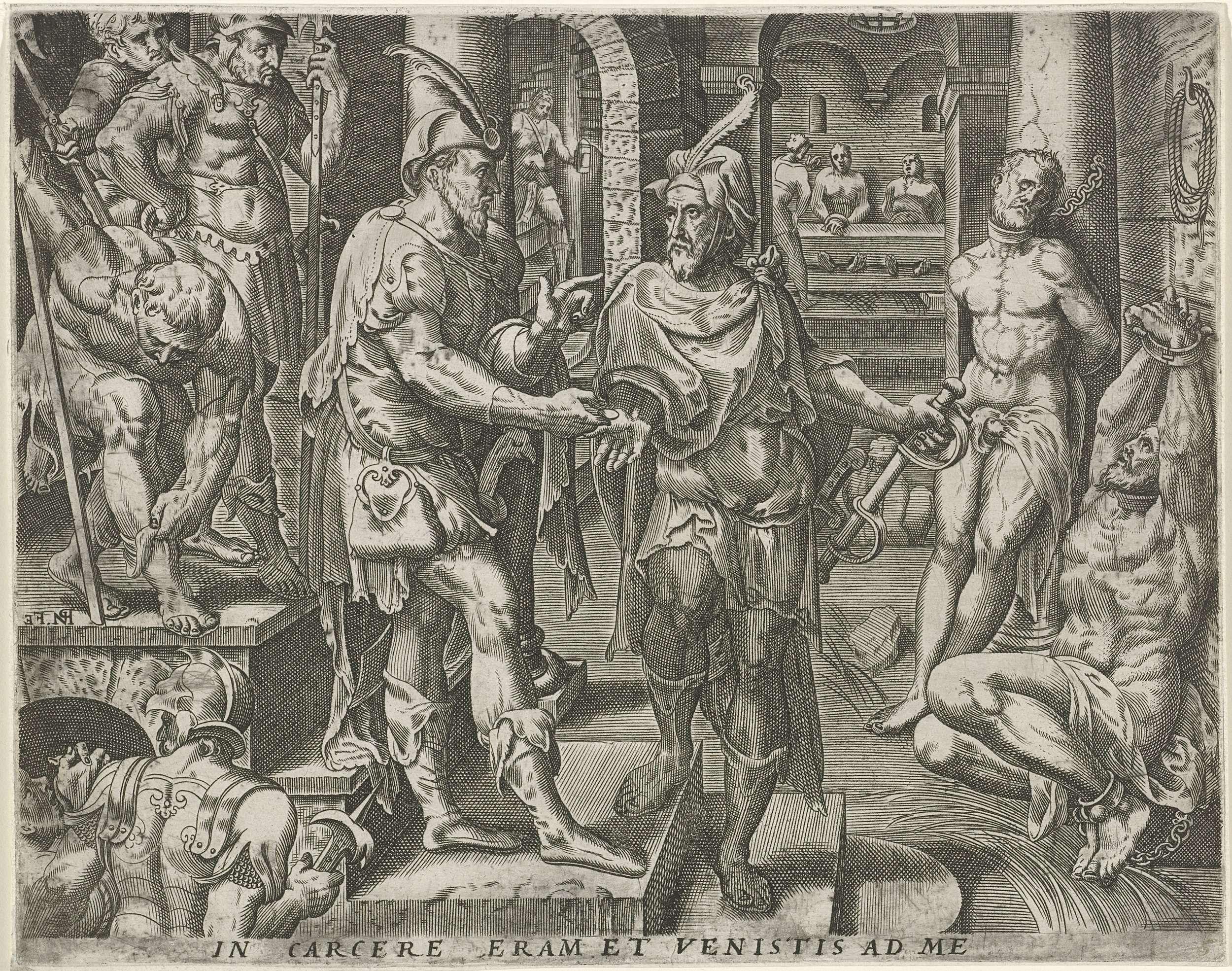 Pieter Nagel   Bezoeken van de gevangenen, Pieter Nagel, Gerard P ...