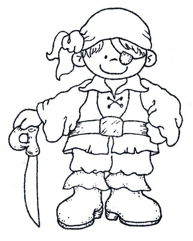 Top 25 Pirates Coloring Pages For Toddlers | Pirate coloring ...