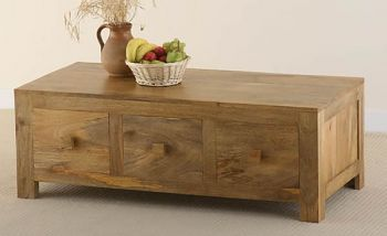Mantis Light Solid Mango 6 Drawer Coffee Table Should I This To Replace Our Large Pine Chest