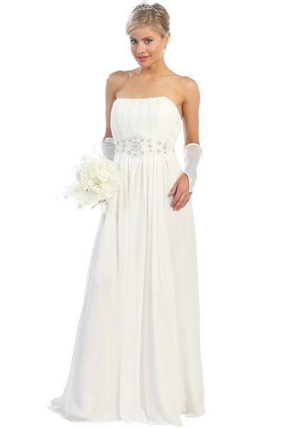 Informal Wedding Dresses Under 100 1154 Center Stage NEW ARRIVAL Colors Off White Coral
