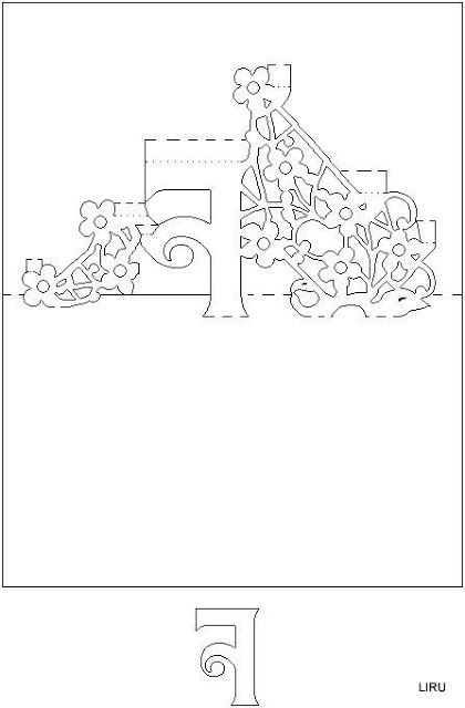 Kirigami - Livro de Letras - liru_origami - Picasa Web Albums ...