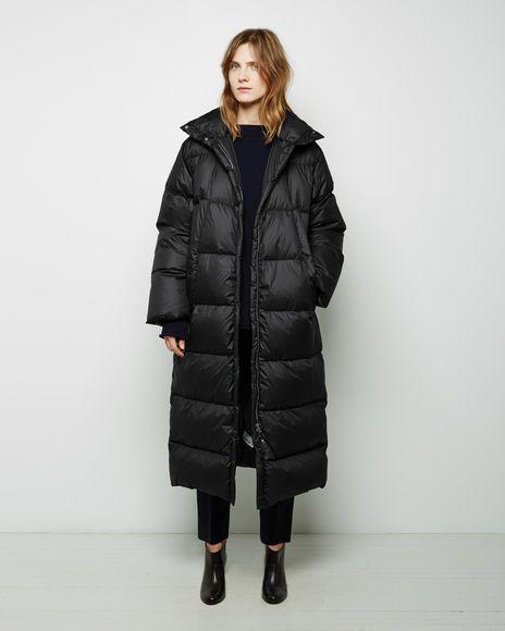1d91be6c19f6 Long Puffer Coat - IT 40   Black
