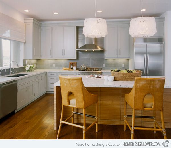 L Shaped Kitchen Layout With Wall Oven 15 astonishing contemporary l-shaped kitchen layouts   kitchens