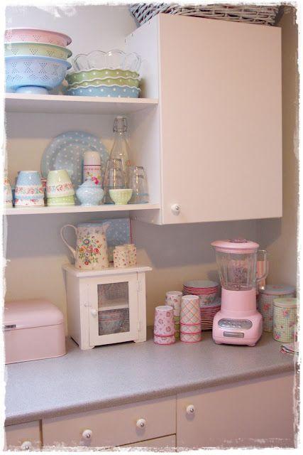 My Lovely Home Lovely Pastels Kitchen Love Pinterest