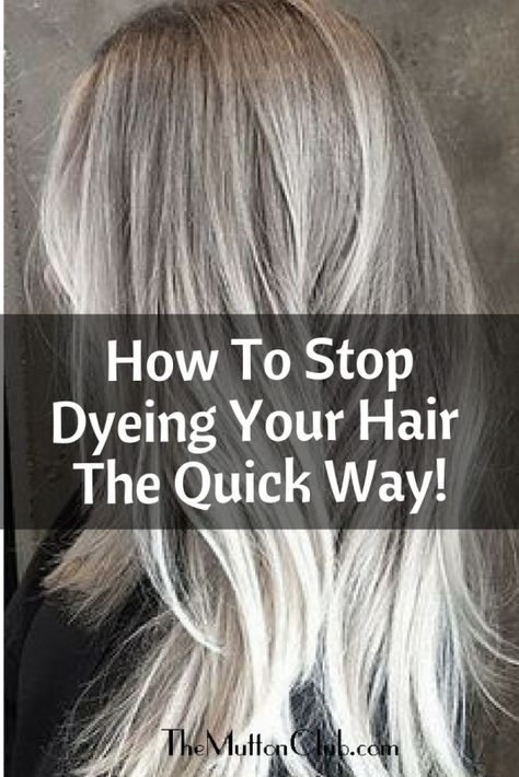 How To Stop Dyeing Your Hair: The Quick Way! - The