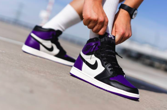 Don t Miss Out On The Air Jordan 1 Retro High OG Court Purple  926b36087