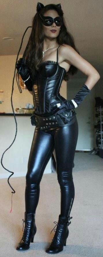catwoman costume - sexy u0026 easy without showing too much skin. Think going as Cat Women next Halloweu0027en & Pin by Jonathan Ambroise on sexy ladies in cosplay | Pinterest ...