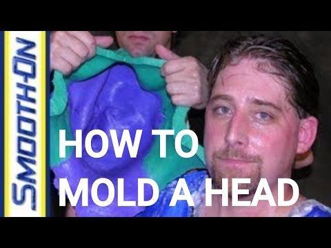 How To Make A Mold Of A Face Using Silicone Rubber Mold Making