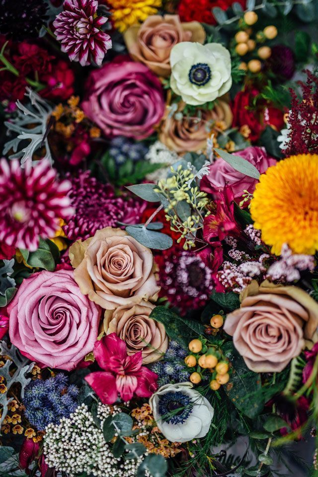 Gorgeous florals for intimate handmade riverside wedding #wedding #floral
