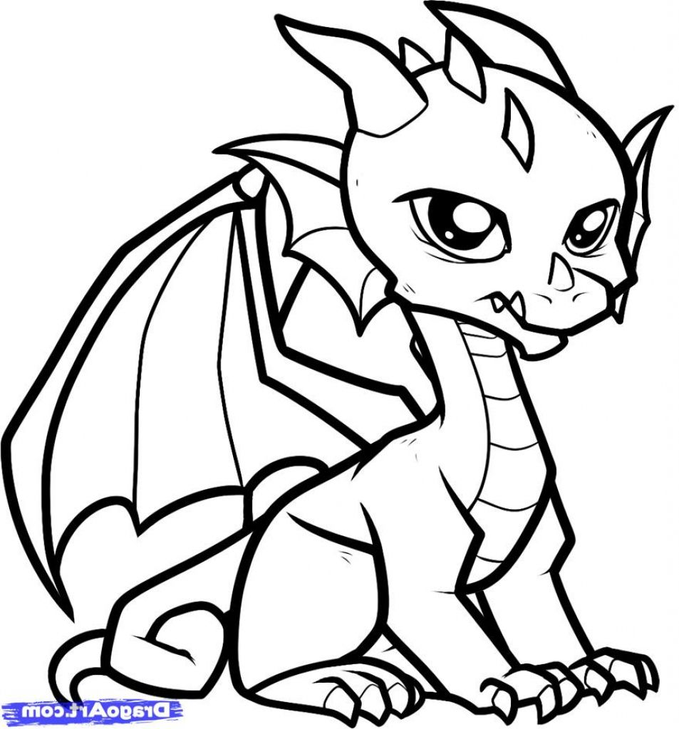 Easy To Draw Dragon Pictures Pictures Of Easy To Draw Dragons Easy