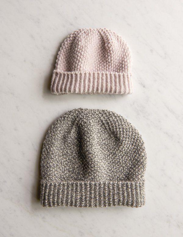 Fluffy Brioche Hat | Purl Soho | Knitting | Pinterest | Gorros ...